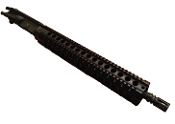 "5.56 / .223 Wylde 16"" m4 Upper with 15"" Free Float Quad Rail"