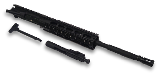 "MSF 16"" 5.56 NATO 1:8 AR15 Upper w/ BCG & Charging Handle"