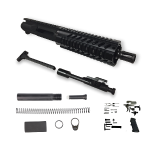"*Pistol Build Kit* 7.5"" Sport 5.56 / .223 Wylde Ar15 w/ 7"" Rail"