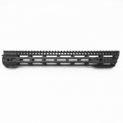 "15"" Slanted Hybrid M-Lok Free Float Rail"