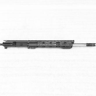 "16"" SS .223 Wylde 1:8 Ar15 Upper with Slanted Hybrid Keymod Rail"