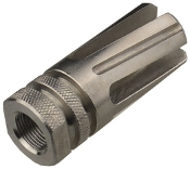 Stainless Twisted Flash Hider 5.56/.223