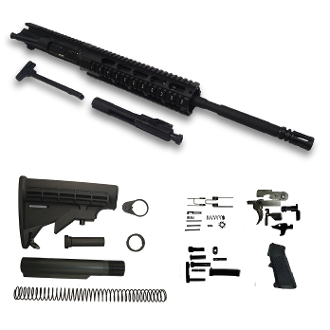 "*Rifle Build Kit* 16"" Ar15 5.56/.223 blem w/ 10"" Free Float Rail"