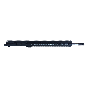 "18"" SS .223 Wylde 1:8 Fluted Ar15 Upper, 15"" Midwest SSK Rail"