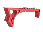 SI Link Curved afg ForeGrip, M-Lok & Key Mod Compatible - Red