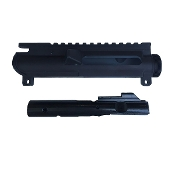 9mm Nitride Bolt Carrier Group and Stripped Upper Combo