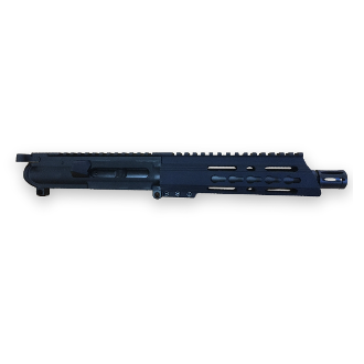 "9mm 7.5"" Ar15 Complete Pistol Upper, with BCG and Keymod Rail"