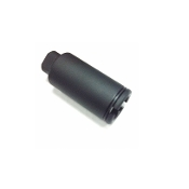 1/2-28 Ar15 Flash Can, Black