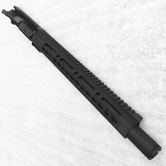 "14.5"" 1:8 5.56 / 223 ar15 Pistol Upper, 15"" Keymod & Flash Can"