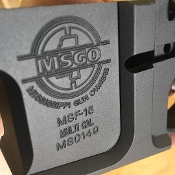 MSGO Billet Ar15 Stripped Lower *FFL ITEM*