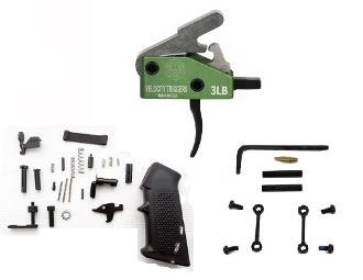 Velocity 3lb Enhanced AR-15 Lower Parts Kit LPK