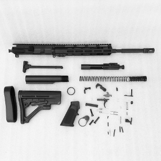"*Rifle Build Kit* blem 16"" 4150 Ar15 1:7 223 Wylde, 10"" mlok"