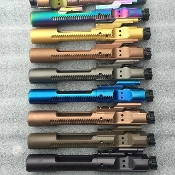 Custom Color / Caliber PVD m16 Ar Bolt Carrier Group BCG