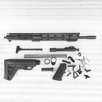 "*Rifle Build Kit* CHF 14.7 Pin/Weld Ar15 5.56 1:7 w/ 12"" Rail"