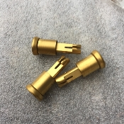 TiN Titanium Nitride / Gold Ar15 Forward Assist