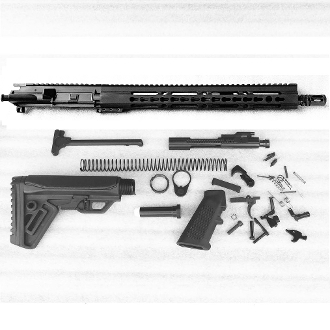 "*Rifle Build Kit* CHF 16"" Barrel Ar15 5.56 1:7 pin&weld muzzle"