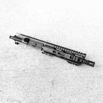 "7.5 5.56 / 223 Wylde Ar15 Pistol Upper with 7"" hybrid Mlok rail"