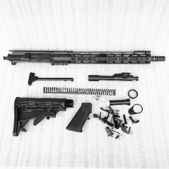 "*Rifle Build Kit* 16"" .223 Wylde Ar15 with 15"" Light Mlok Rail"