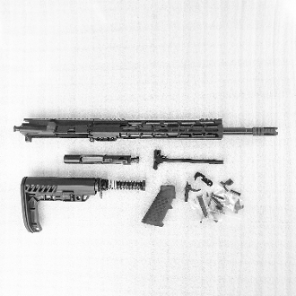 "*Rifle Build Kit* 16"" .223 Wylde Ar15, L7 stock & 12"" Light Mlok"