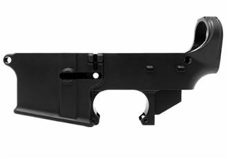 80% Machined Lower - No FFL required - anodized black